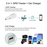 Realtime GPS Tracker GSM GPRS Locator Car Charger USB Port For Phone Camera