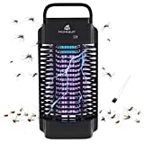 Homesuit 18w Bug Zapper for Outdoor & Indoor ,Electric 4200V Mosquito Zapper,Electronic Mosquito Killer/Insect Fly Pest Trap for Backyard,Patio,Home