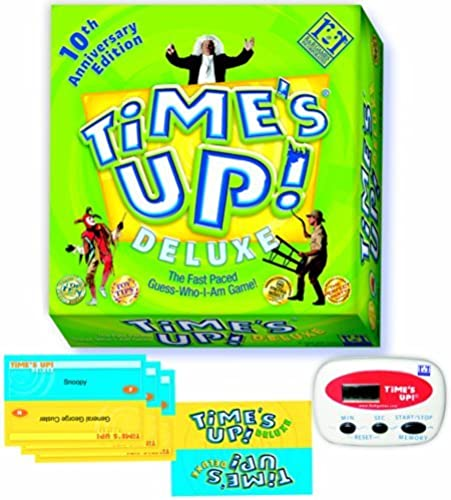 soporte minorista mayorista Time's Up Deluxe Deluxe Deluxe Board Game 10th Anniversary Edition - The Fast Paced Guess Who I Am Game by R & R Games  ahorrar en el despacho