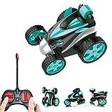 jillbang Coche teledirigido, juguete para niños, mando a distancia, giro de 360°, mini coche, moto, eléctrico, juguete para niños a partir de 3 años