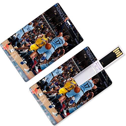 USB Flash Thumb Drives Giocatore di pallacanestro nazionale Forma di carta di credito Playoff dell'associazione Finali Allstar Super Star Lancia un passaggio di baseball Linea a tre punti U Memoria su