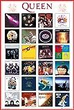 Queen Poster Covers Freddie Mercury