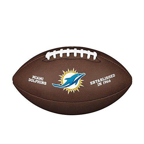 Wilson NFL Team Logo Composite Fußball, Miami Dolphins, Official