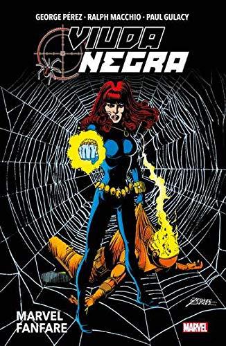 Viuda Negra. Marvel Fanfa