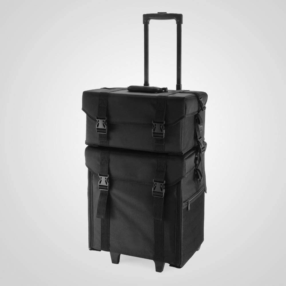 BYCDD Spasm price Makeup Train Case Rolling Cases Bea Cosmetic Artist Ranking integrated 1st place