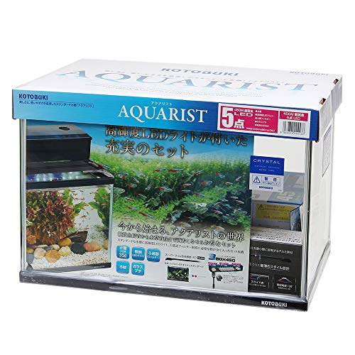 コトブキ工芸 kotobuki アクアリスト450M 観賞魚 5点 LED 45cm水槽セット