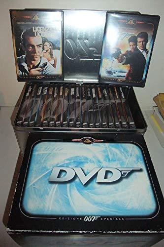 Edizione Speciale James Bond 007 Con 20 Dvd Cofanetto In Latta Raro