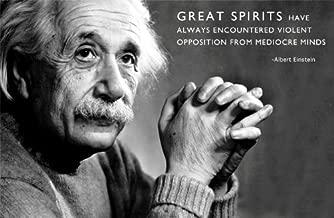 11x17 Poster Print Albert Einstein - Great Spirits