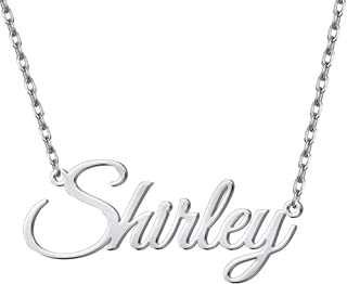 Best cheap name necklace sterling silver Reviews