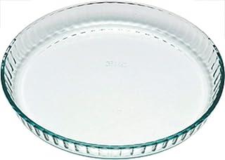 Pyrex Bake & Enjoy Mouleà tarte en verre haute résistance 28 x 28 cm 1,6 l