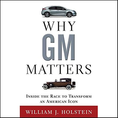 Why GM Matters audiobook cover art