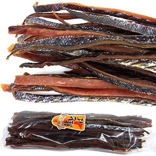 鮭とば 燻製 ロング 1kg 北海道産 皮あり 長さ40cm 昔ながらの固め さけとば 鮭トバ 1キロ 珍味