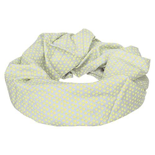 LÄSSIG Stillschal Stillstola Stilltuch diskretes Stillen Stillloop Halstuch Schal Weich & Atmungsaktiv/Nursing Loop, Dottie