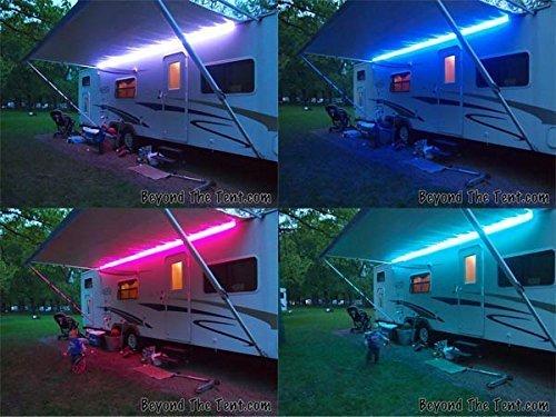 RGB CAMBIO DE COLOR Luz LED 12V DC Autocaravana Iluminación Exterior F45...