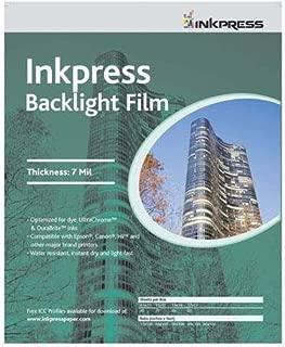 Inkpress Backlight Film- 7 Mil, 11