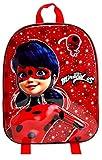 Miraculous 1029EEVAG-7407 Ladybug Mochila Infantil 3D 33cm
