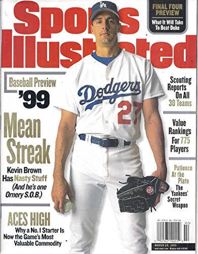 Sports Illustrated (March 29, 1999 - Cover: Kevin Brown)