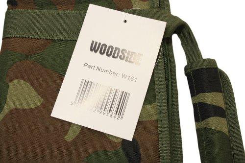 Nitehawk Padded Air Rifle/Shotgun Gun Bag/Case Shooting Hunting Storage Camouflage/Camo