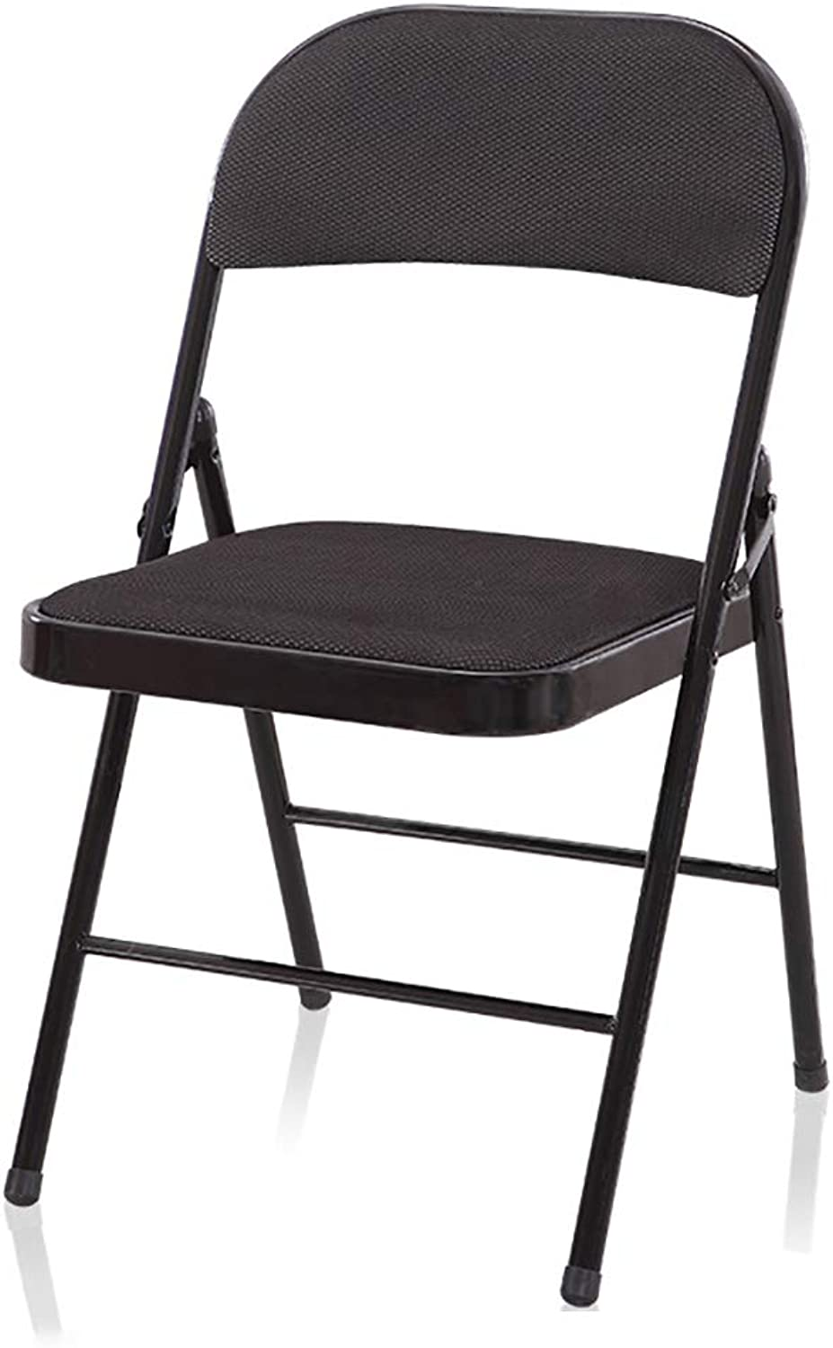 XHLZDY Folding Chair, Leisure Chair, Home Folding Chair, Dormitory Back Chair, Office Chair, Staff Chair (44×47×77cm) (color   A)