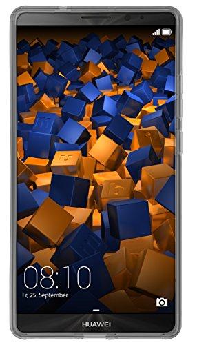 mumbi Hülle kompatibel mit Huawei Mate 8 Handy Case Handyhülle, transparent schwarz - 6