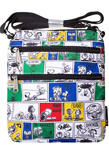 Loungefly X Peanuts Comic Strip Passport Bag