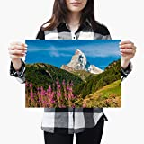 Destination Vinyl-Poster #3458, Matterhorn Berg Zermatt