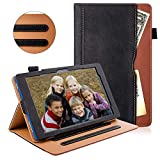 ZoneFoker Case for All-New Fire HD 8 Tablet(10th Generation,2020 Release)&Fire HD 8 Plus Tablet,Premium PU Leather Stand Folio Case Cover with Auto Sleep/Wake-Multi-Angle Viewing