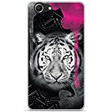 ONOZO Soft TPU Gel Case for Wiko Pulp Fab 4G Glam Tiger