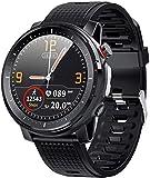 Reloj inteligente con monitor de ritmo cardíaco y monitor de sueño, contador de calorías, pantalla táctil de 1,3, IP68, resistente al agua, podómetro, rastreador de actividad para niños