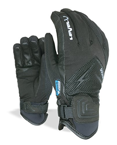 Level Herren Handschuhe I-Thunder Gore-Tex, Black, 8,5
