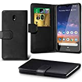 Nokia 2.2 Case,Nokia 2.2 Cover DN-TECHNOLOGY Leather Wallet