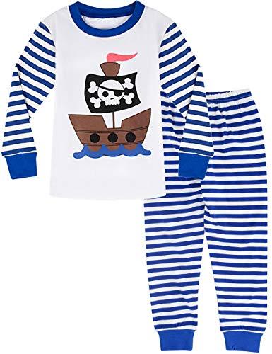 MOMBEBE COSLAND Pijama Pirata Niño Manga Larga 3