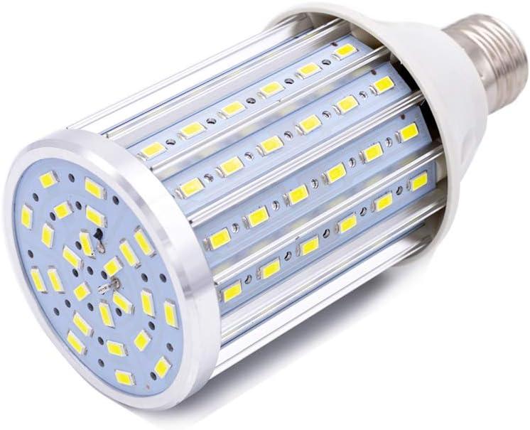 Bombilla LED E27, 35W LED maíz Bombilla 4500K Blanco Natural, 350W Equivalentes 3450lm 104x5630SMD No Regulable, Bombillas de maíz (35W Blanco natural)