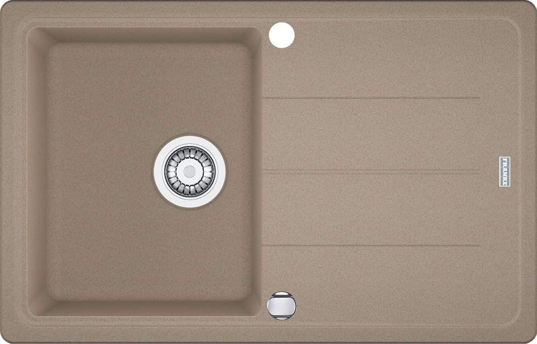 Franke Basis BFG 611 Cashmere Granitspüle Grau Einbauspüle Küchenspüle