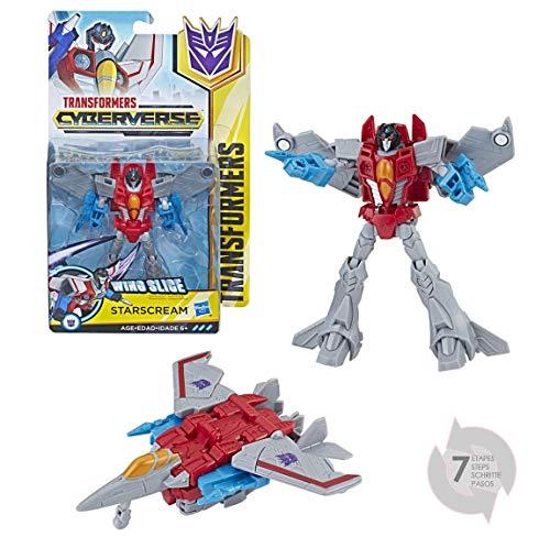 Hasbro E1902ES0 Cyberverse Starscream Roboter-Actionfigur Transformers