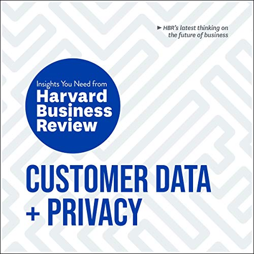 Customer Data and Privacy cover art