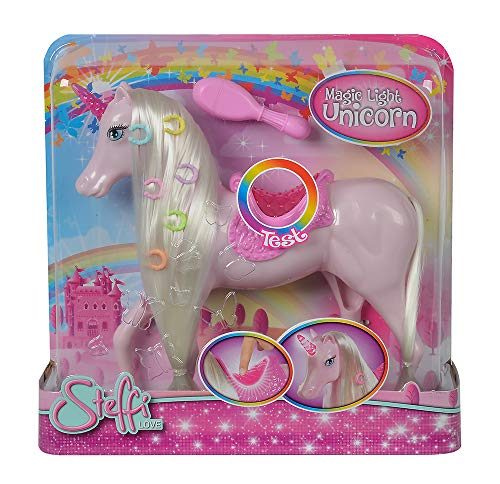 Simba 104663204 Steffi Love Magic Light Unicorn Puppenzubehör, Multi