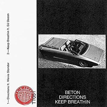 Directions / Keep Breathin