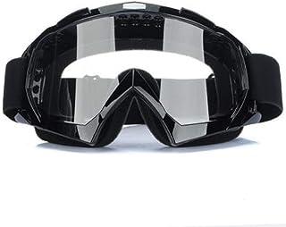 Binnan Motorrad Schutzbrille,Crossbrille Wind Staubschutz Sportbrille Motorrad Goggles für Outdoor Aktivitäten