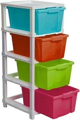 Supreme Chest Multipurpose Storage Drawers, Multicolor