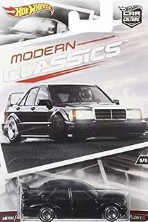 HOT WHEELS CAR CULTURE MODERN CLASSICS BLACK MERCEDES-BENZ 190E 2.5-16 EVO II