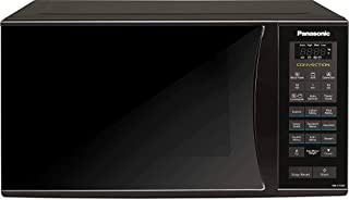 (Renewed) Panasonic 23L Convection Microwave Oven(NN-CT353BFDG,Black Mirror, 360° Heat Wrap) with Starter Kit