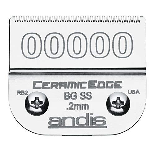 Andis 64730 Ceramic Edge 00000 SS Blade 0.2mm