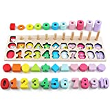 Interactive Toy Early Education Spielzeug for Kinder Holz Sorting Puzzles Spielzeug Form Sorter...