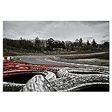 artboxONE Poster 90x60 cm Sport/Motorsport Reifenzoom -