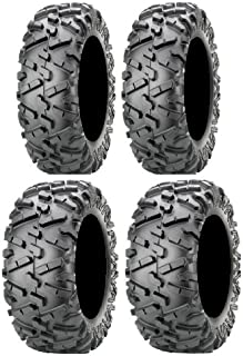 Full set of Maxxis BigHorn 2.0 Radial 28x9-14 and 28x11-14 ATV Tires (4)