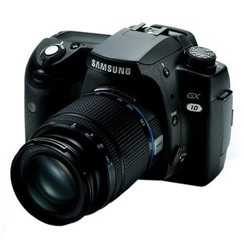 Samsung GX-10 10.2MP Digital SLR Camera with 18-55mm Schneider D-XENON Lens