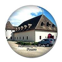 フランス Marsannay-la-Cote冷蔵庫マグネットホワイトボードマグネットオフィスキッチンデコレーション