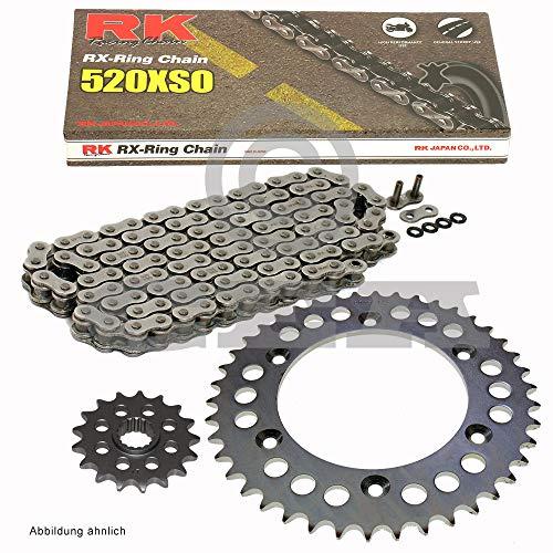 rot offen Chain Set for Suzuki GSX R 600/2001-2005/Conversion 16//18 RK RR 520/GXW 110