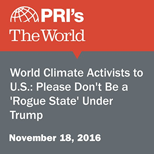 World Climate Activists to U.S.: Please Don't Be a 'Rogue State' Under Trump audiobook cover art